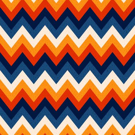 zag: seamless zig zag pattern Illustration