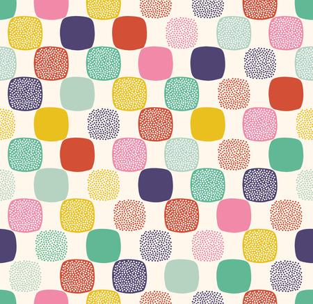 repeats: seamless dots pattern