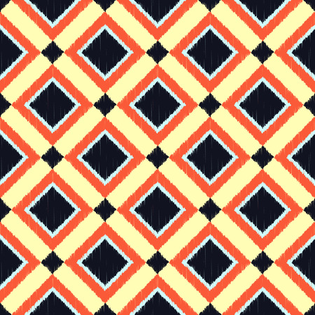 repeats: seamless rhombus pattern