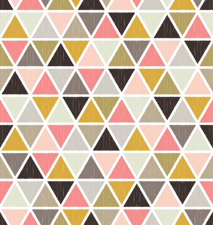 Naadloze geometrische patroon achtergrond behang
