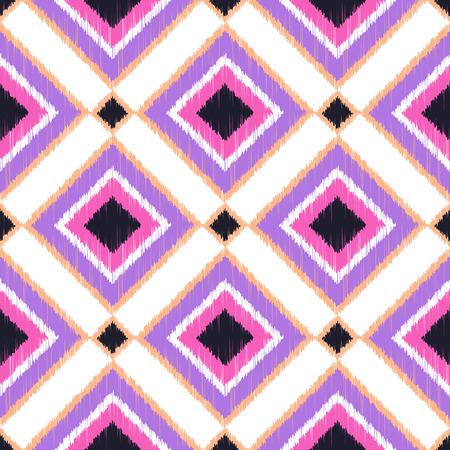 repeats: seamless rhombus pattern  Illustration
