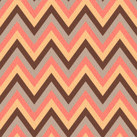 seamless wave chevron pattern  Vector