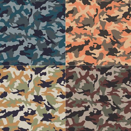 シームレスな迷彩パターン