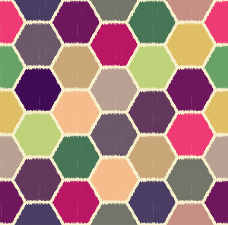 hexagonal pattern: seamless hexagonal pattern Illustration