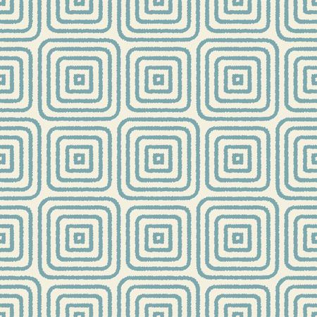 nostalgy: seamless geometric square shape pattern Illustration