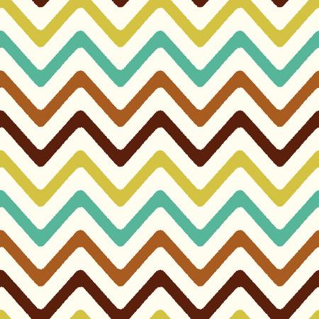 nostalgy: seamless retro chevron zigzag pattern Illustration
