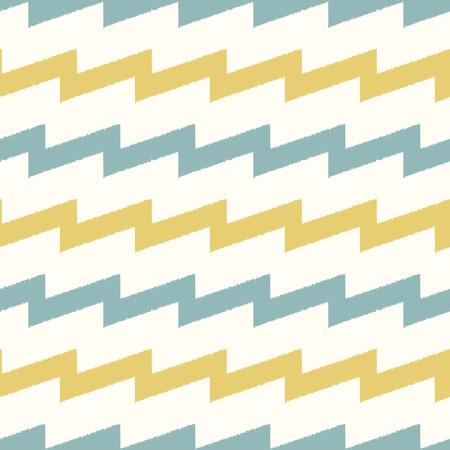 nostalgy: seamless zigzag fabric pattern Illustration