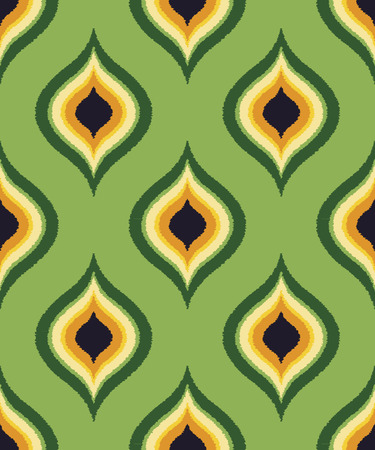 nostalgy: seamless colorful ornament pattern