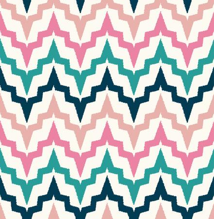 zig: seamless colorful zig zag pattern