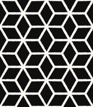 wall angle corner: seamless black and white mesh scribble textured pattern