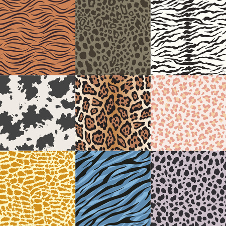 snake leather: repeated wildlife animal skin fabric pattern