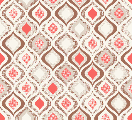 seamless ornament wallpaper background with pastel color