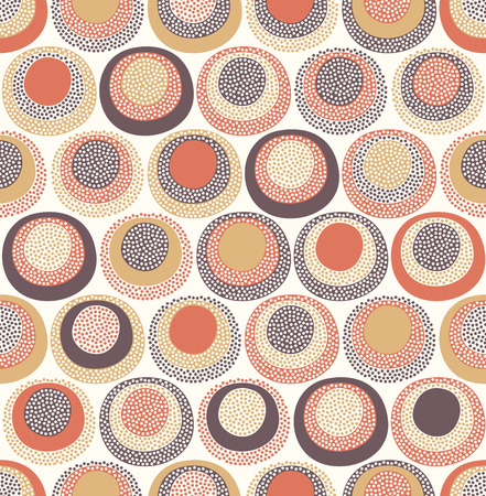brown background texture: seamless cute doodle dots pattern