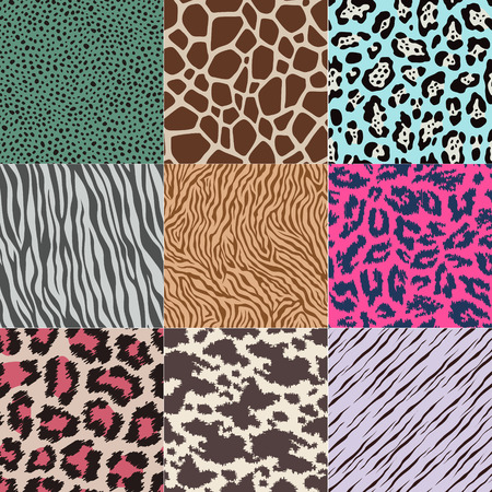 python: repeated wildlife animal skin texture background