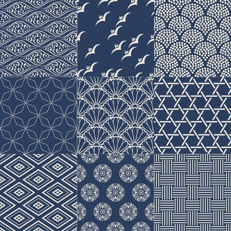 원활한 일본어 메쉬 패턴