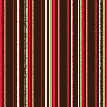 seamless colorful vertical stripes fabric pattern Vector
