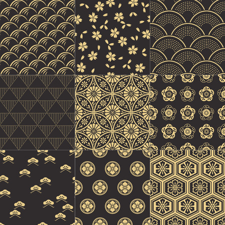 japanese background: japanese pattern