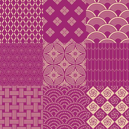 japanese pattern Vector