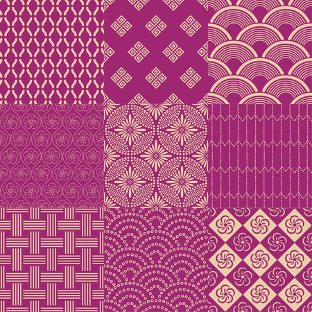 Japanse patroon Stock Illustratie