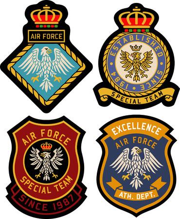 Royal Classic heraldische embleem badge schild