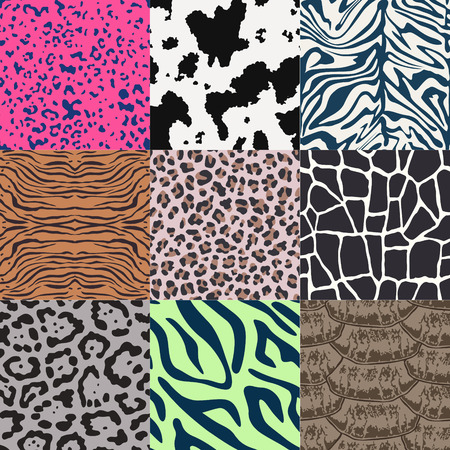 repeated: repeated wild animal skin texture pattern