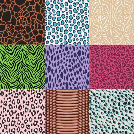 scaly: seamless animal skin pattern