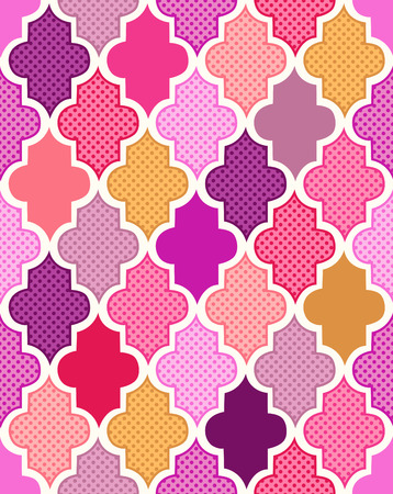 seamless colorful islamic pattern background Vector