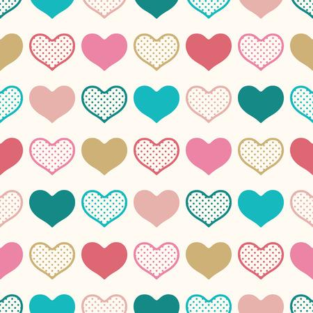 seamless heart pattern