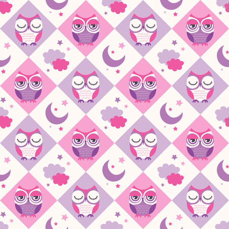 seamless birds bedroom wallpaper background pattern