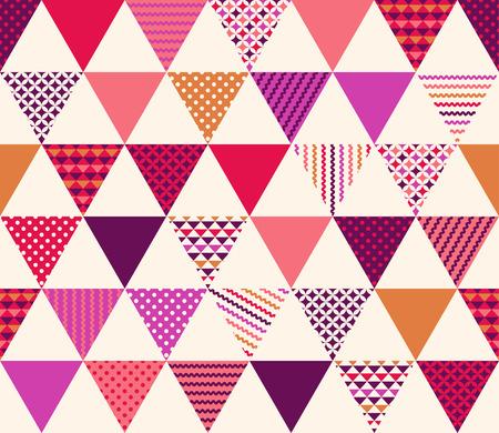 기하학적 인 텍스처 패턴 원활한 삼각형