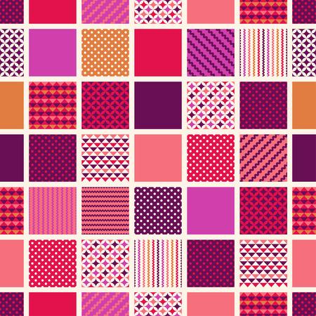 기하학적 인 텍스처 패턴 원활한 광장