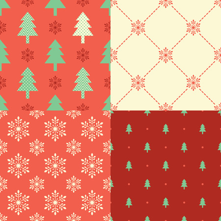 christmas objects: seamless christmas symbol pattern