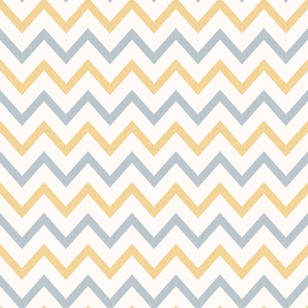 Pastel Color Vintage Textured Zig Zag Striped Background Stock Vector