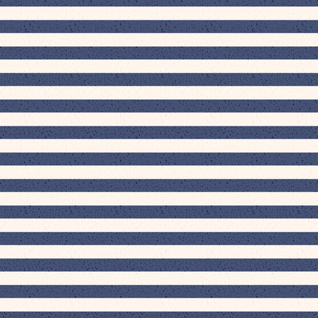 Navy Blue and White Stripes Seamless Pattern - Horizontal navy blue and white stripes seamless pattern