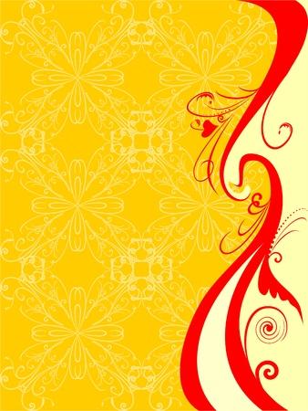 floral pattern Standard-Bild