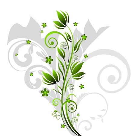 dise�os: Fondo de motivo Floral abstracto