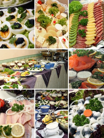 cold buffet photo