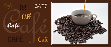 coffe signboard Stock Photo - 9084300