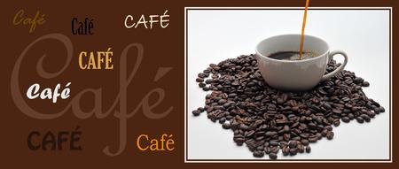 coffe signboard Stock Photo - 9084300