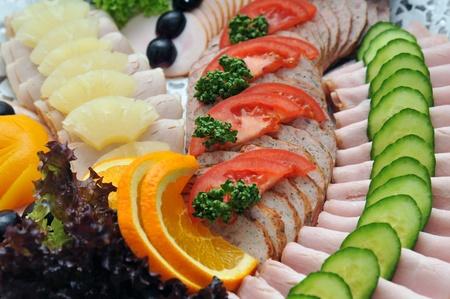 vleeswaren Stockfoto