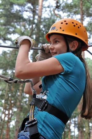 12 13: climbing Stock Photo