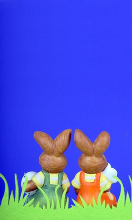 easter bunnies photo