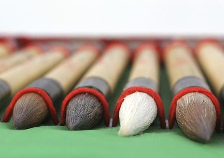 calligraphy brushes Stock Photo - 9333603