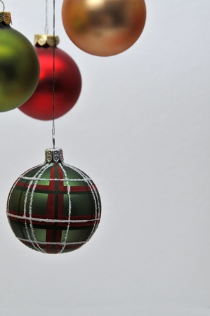 text free space: christmas decoration