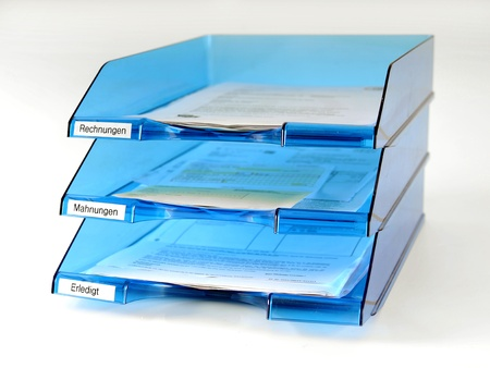 filing system: office storage