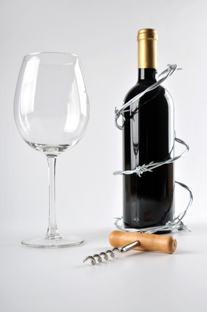 risky behavior: alcohol can be dangerous Stock Photo
