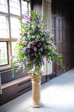 Lila Blüten schmücken Hochzeiten. Standard-Bild - 11596213