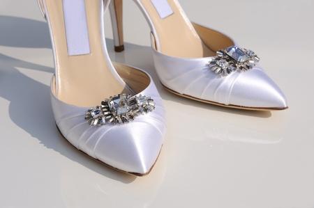 Chaussure Brides les détails gros plan