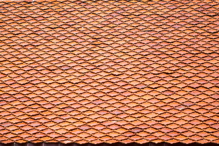Tile roofs, patterns - Stock image