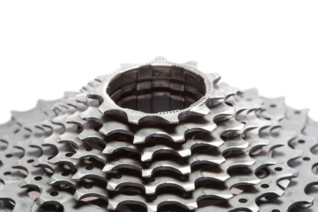 Bicycle titanium cassette spare parts.